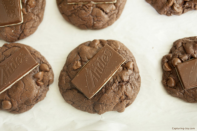Andes Mint Cookies