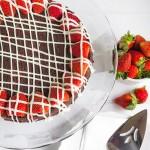 Strawberry Chocolate truffle Cake Valentine dessert recipe