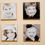 portraits,wood,modpodge