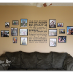 DIY foamboard photo mats