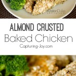 Almond Crusted Baked Chicken Recipe! Capturing-Joy.com