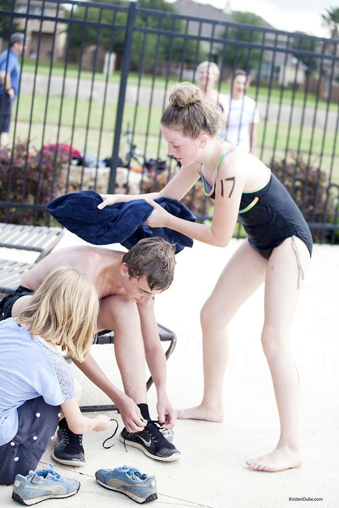 kids summer triathlon