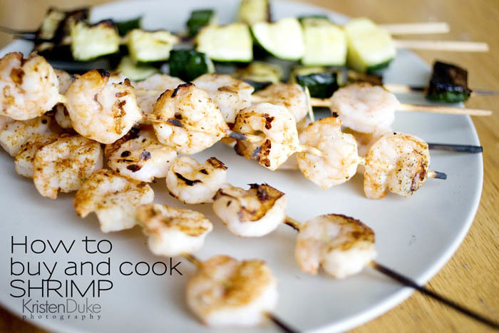 how to buy and cook shrimp {kristendukephotography.com}