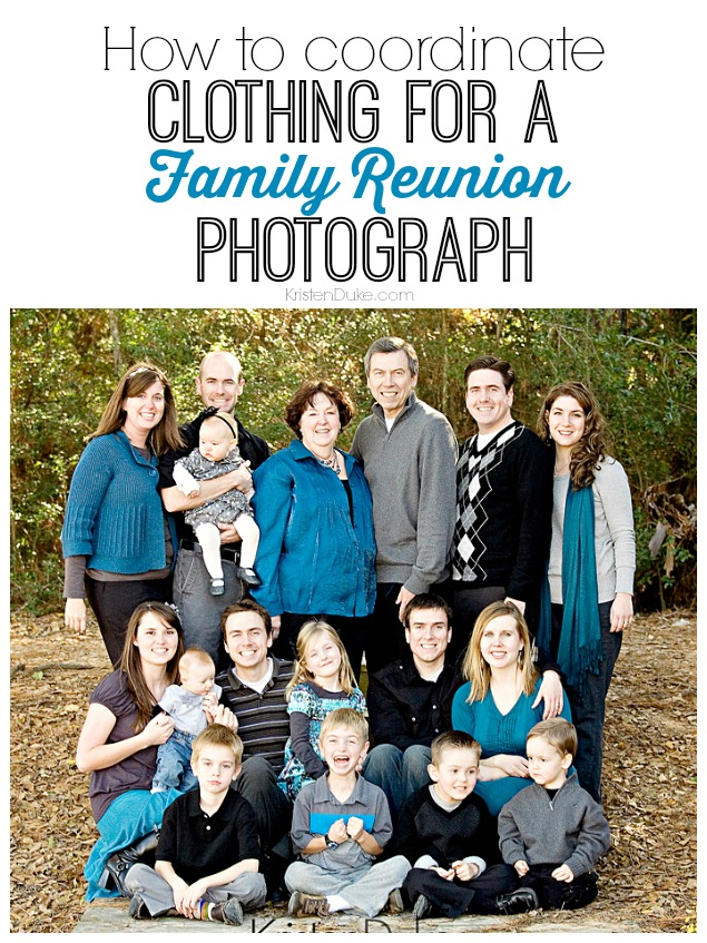 Family Portrait Ideas Colors