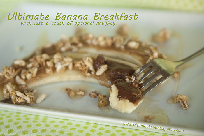 ultimate banana breakfast