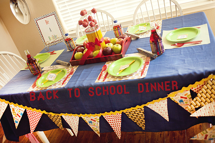 Back To School Dinner Be A Builder Capturing Joy With