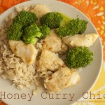 honey curry chicken