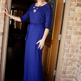 maxi dress with sleeves #fashion #maxi kristendukephotography.com