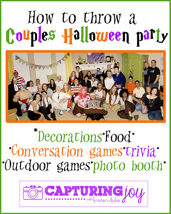 halloween party for couples