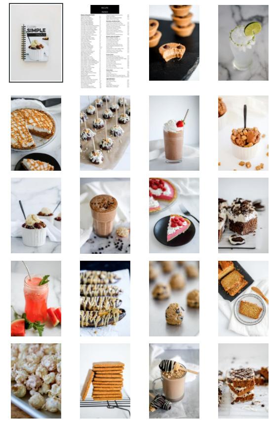 macro dessert recipes