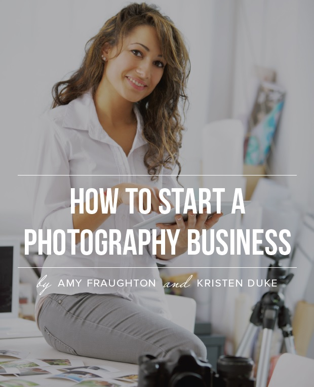 How to start a photography business book
