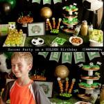 Soccer Birthday Party Ideas on Capturing-Joy.com