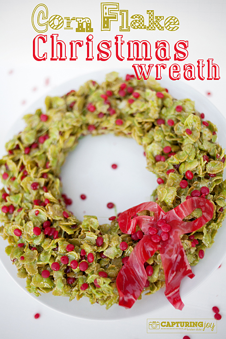 Corn Flake Christmas Wreath Recipe