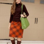 brown and orange fall plaid @Capturing Joy with Kristen Duke