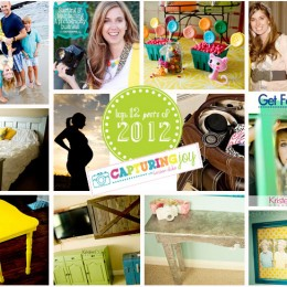 Top 12 Posts of 2012 at Capturing Joy with Kristen Duke