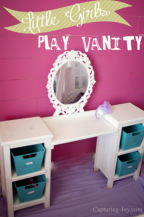 little girls play vanity table. Black Bedroom Furniture Sets. Home Design Ideas