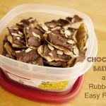 rubbermaid easy find lids and chocolate saltines