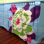 Using a projector to paint AMAZING designs on furniture... {Sawdust and Embryos}[4]
