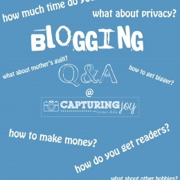 Blogging Questions & Answers