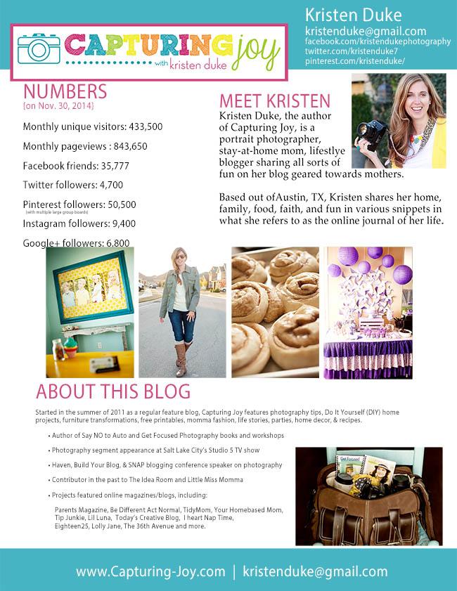media kit Nov. 2014