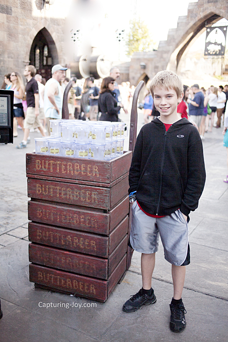 Butter Beer Stand