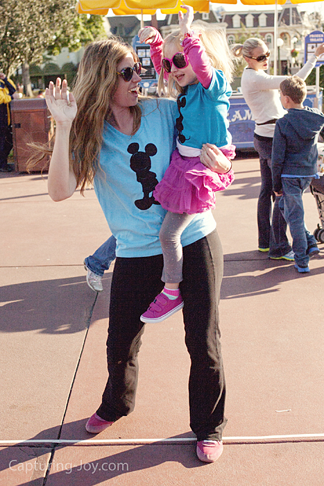 Dancing at Walt Disney World