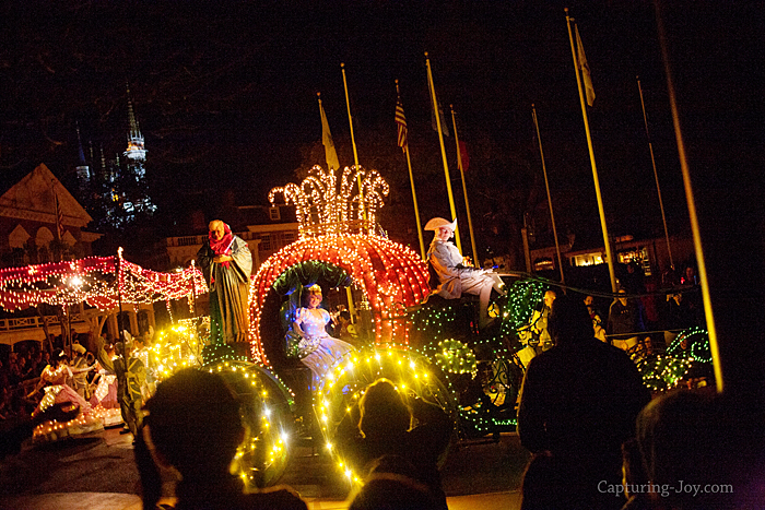 Disney's Electrical Night Parade