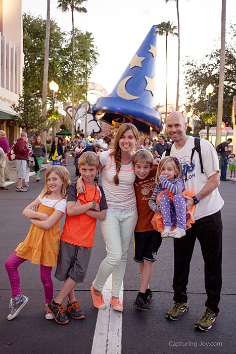 Duke Family at Walt Disney World