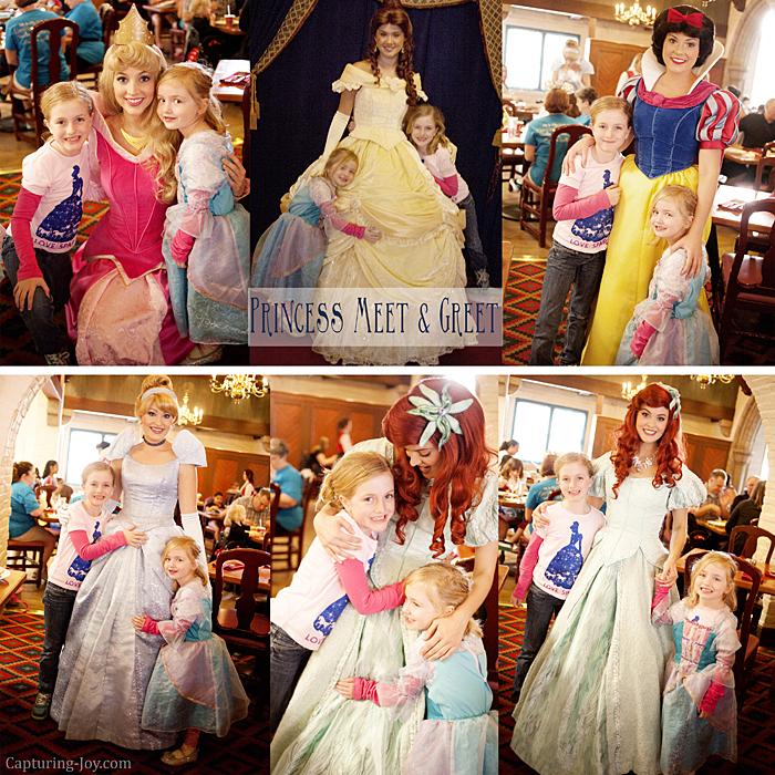 Epcot Princesses