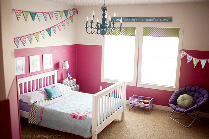 Girls bedroom makeover for Fancy girl bedroom ideas