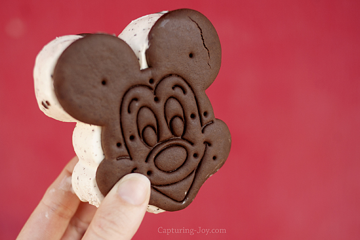 Mickey Mouse Ice Cream Sandwich