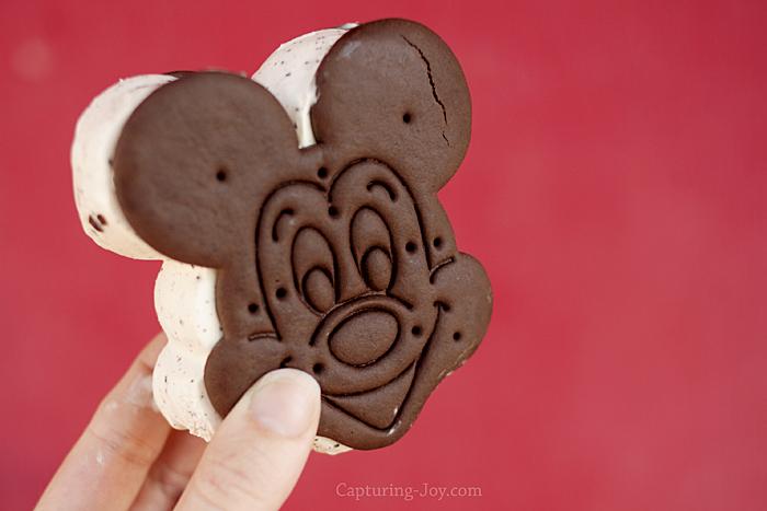 Mickey Mouse Ice Cream Sandwich