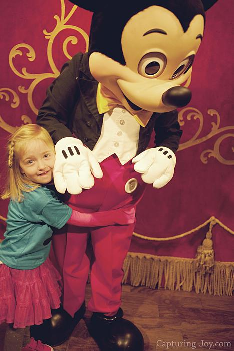 Mickey hug