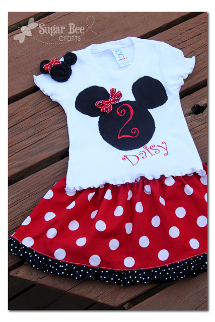 Minnie Outfit diy