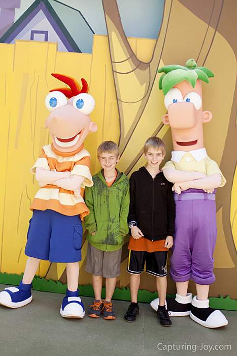 Phineus and Ferb