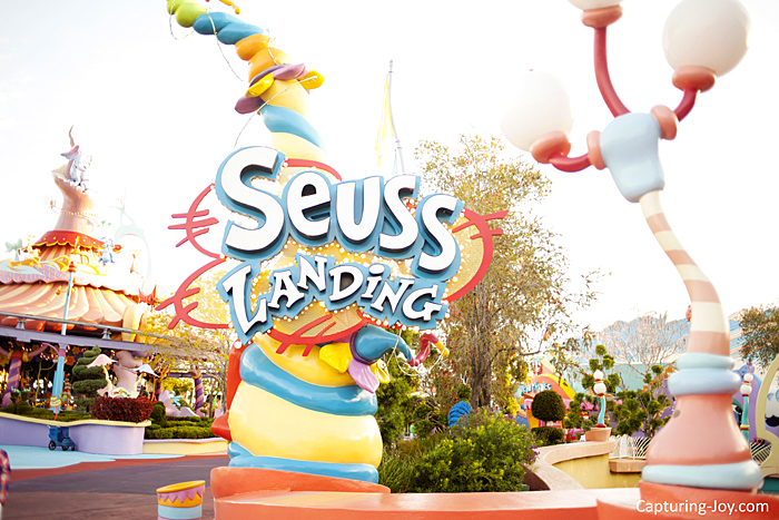 Seuss Landing at Universal Studios Islands of Adventure