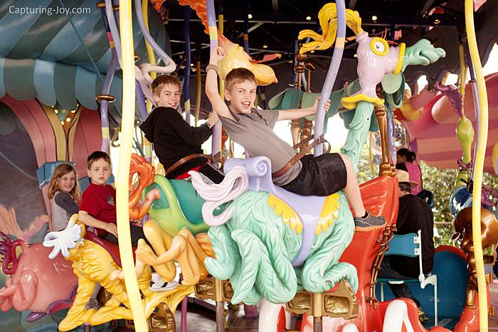 Seuss Landing ride at Universals Studios