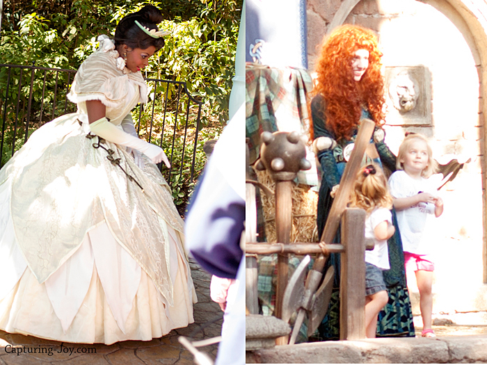 Tiana and Merida
