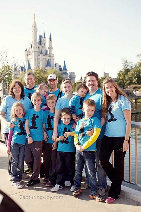 Walt Disney World with 13 people