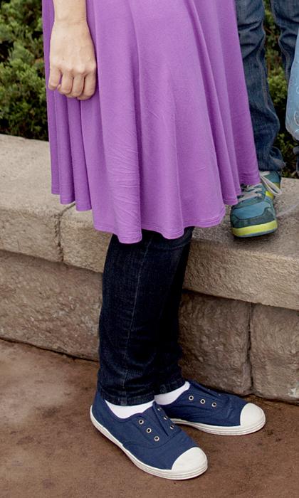 disney jeans under dress