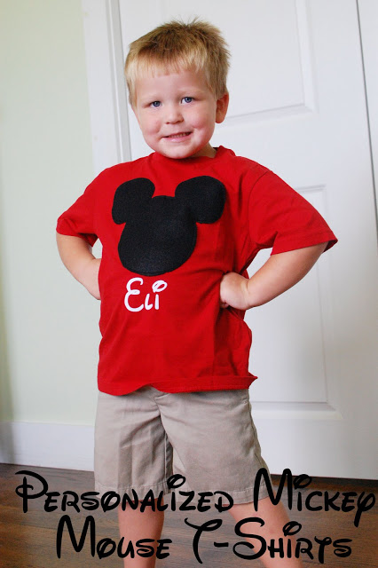 diy Mickey T shirt