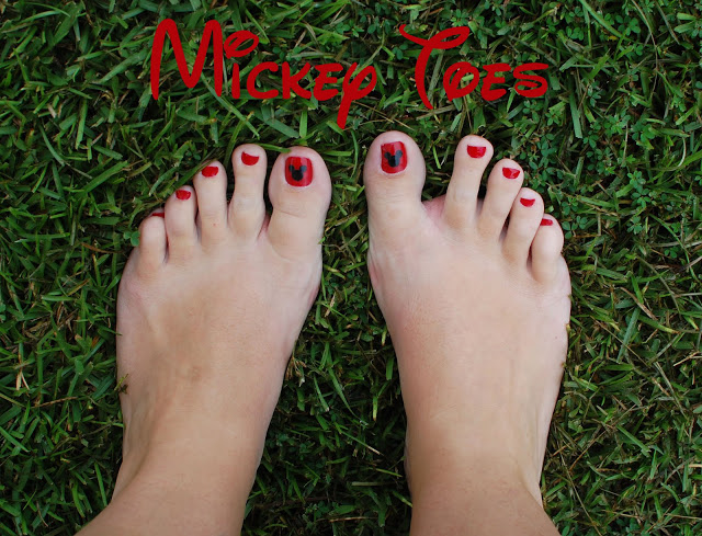 mickey toes