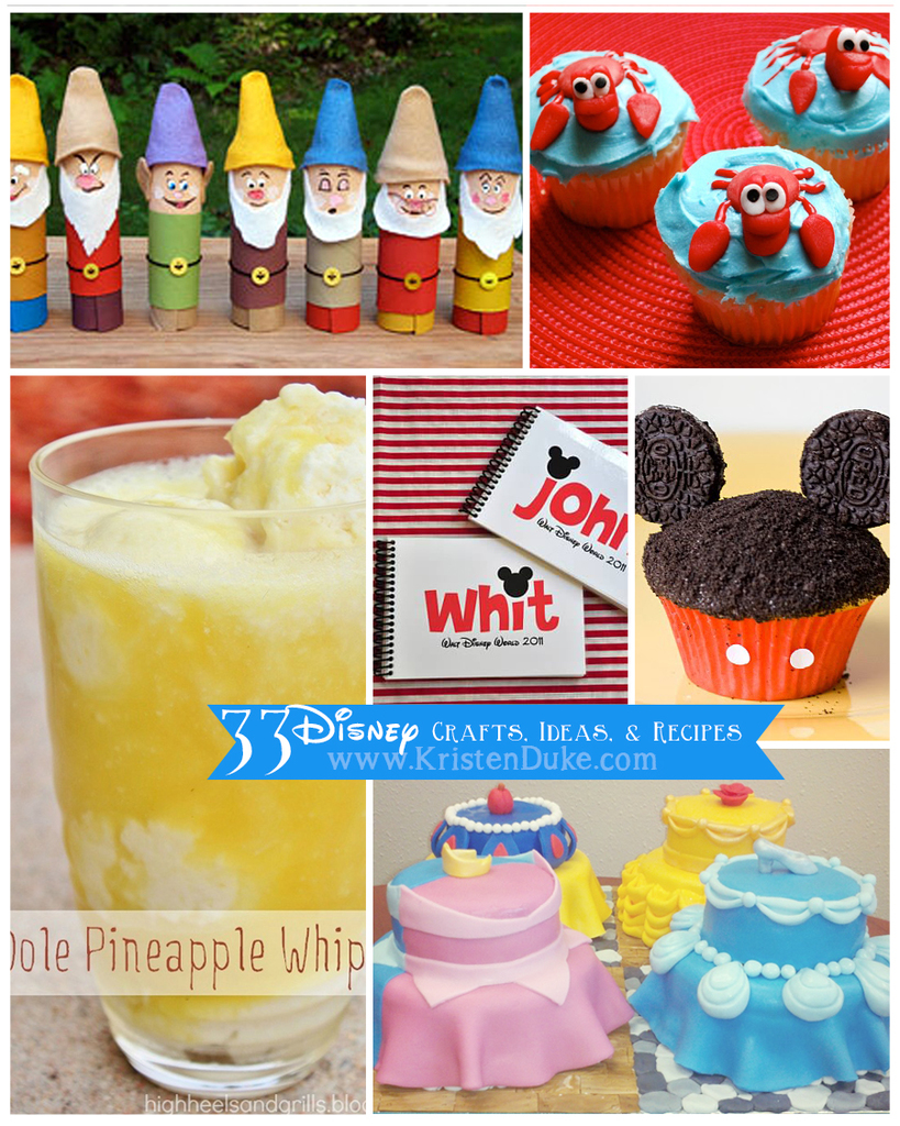 Disney Family  Recipes Crafts and Activities