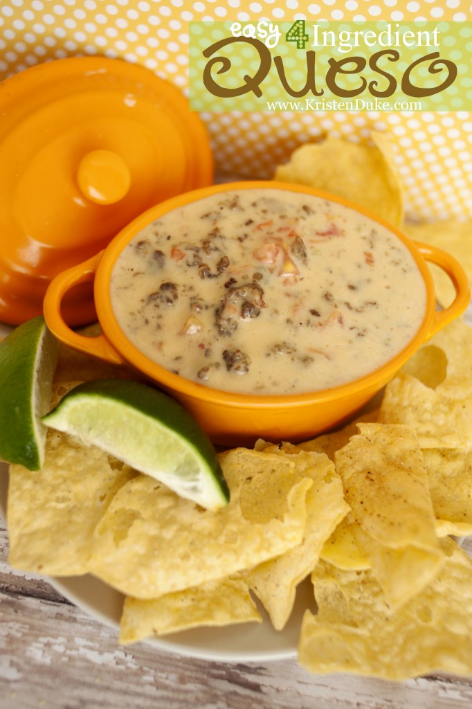 4 ingredient queso