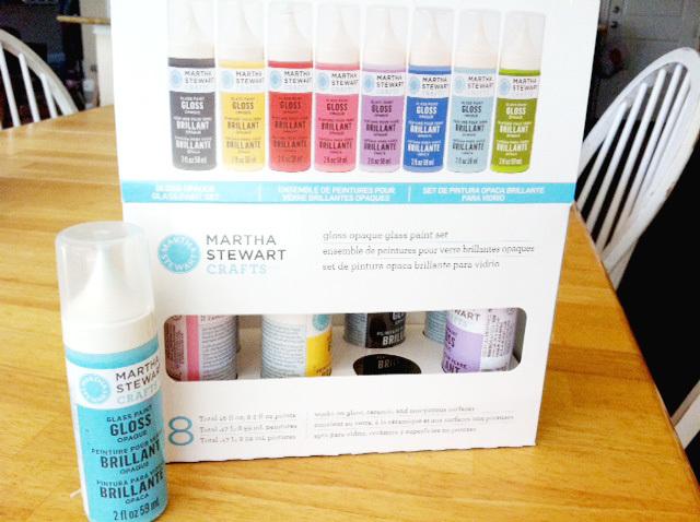 Martha Stewart Glass Paint set