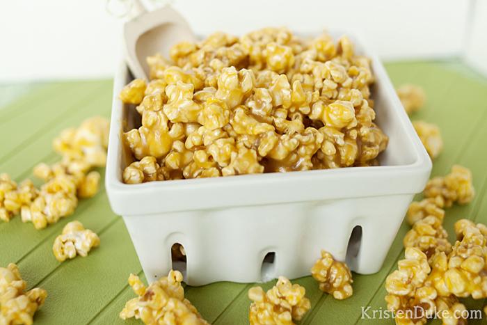 caramel corn vanilla