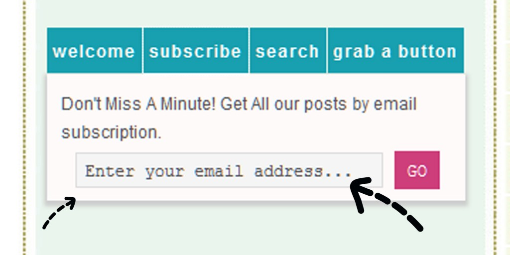 follow blogs by email