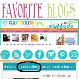 how to follow your favorite blogs