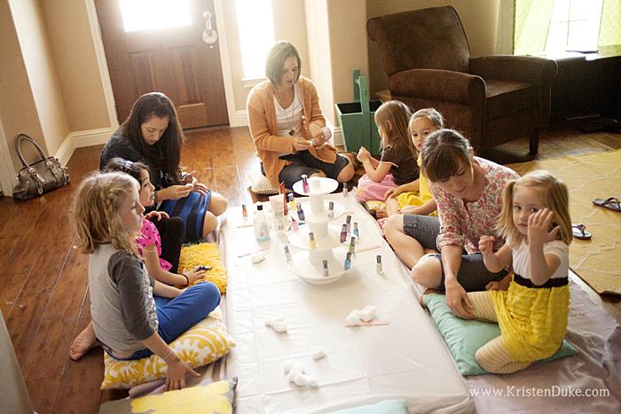 nail polish party