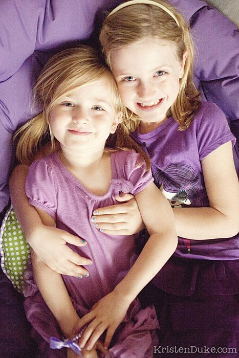 purple sisters